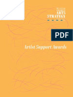 Artists Supports Award 2015