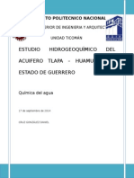 Estudio hidrogeoquimico del acuífero tlapa.doc
