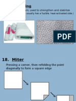 sewing terms part 2