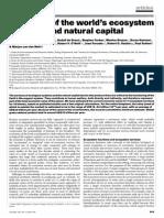 Constanza Article on Valuation