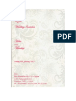 Mohit's Wedding Invite