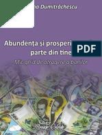 Ioana Dumitrăchescu - Abundenţa Şi Prosperitatea Fac Parte Din Tine