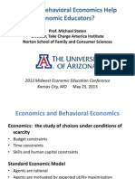 2013 05 23 How Behavioral Econ Helps Econ Educators