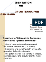 ppt for antenna design in gsm band
