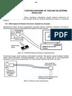 13.Mikroişemcili Sistem Donanımı ve Yazılım Geliştirme Araçları
