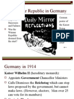 the weimar republic in germany