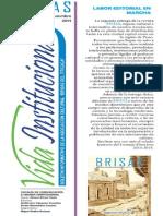 BRISAS Noviembre 2014. Boletín Informativo ACBT