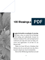 Bless HaShem 100 Times a Day