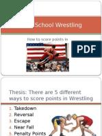 folk-style wrestling