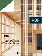 Prospekt Und Richtpreis TINN Ferienhaus