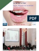 Marketing Sensorial En el dia del Marketing  de la AAM por Eduardo Sebriano Gerente General de Sensplus