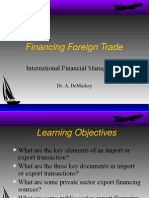 Foreign Trade Financing.st
