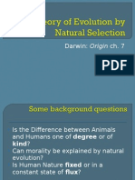 Human Nature 9 - Origin of Species