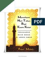 Nasib Kaum Muslim Di Zaman Akhir (the Destiny of Islam in the Endtimes)