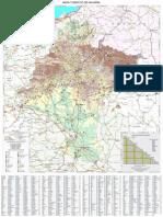 Mapa Carreteras Turismo de Navarra