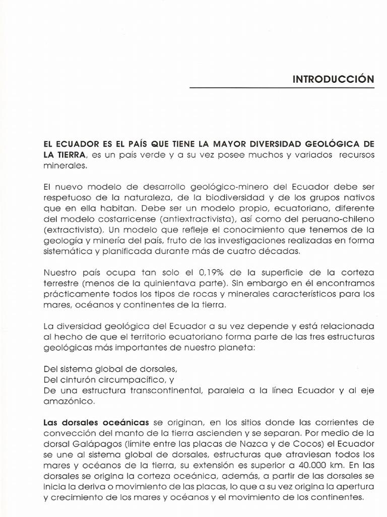 Ecuador Geodiverso