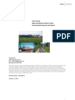 City of Surrey Community Rail Proposal