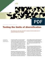 Limitsof Diversification
