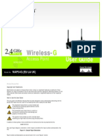 Linksys WAP54G User Guide