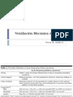 Ventilación Mecánica en Síndrome de dificultad respiratorio del adulto (SDRA)