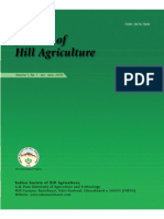 Journal of Hill Agriculture 2010 Vol 1(1)