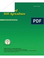 Journal of Hill Agriculture 2010 Vol 1(2)