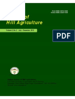 Journal of Hill Agriculture 2012 Vol 3(2)
