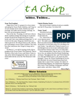 Winter 2015 Grosse Pointe Audubon Newsletter