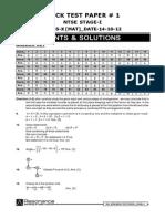 Solution (MAT + SAT)14-10-2012