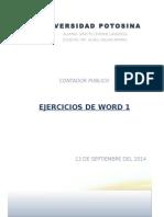 Ejercicios de Word_1