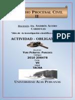 Yuri Peñafiel Derecho Procesal Civil 2