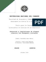 Detección y Limitaciones de Ataques Clásicos Con Honeynets Virtuales 5152