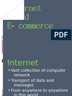 Internet and Ecommerce