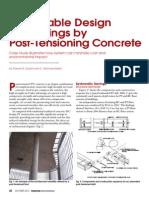 Post Tensioning Concrete