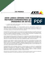 Axis lanza la cámara Q1635