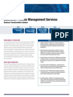 Bpm Fact Sheet