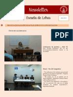 Newsletter - Escuela de Letras (Diciembre 2013)