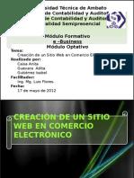 Creacion de Sitio Web
