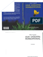Peter Chapell - Lelki Gyógyítás Homeopátiával