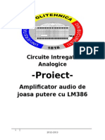 Circuite integrale analogice