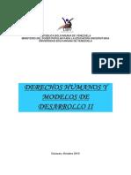 t8-Ddhh y Modelos de Desarrollo II