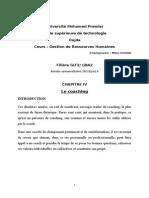 Chapitre IV Le Coaching