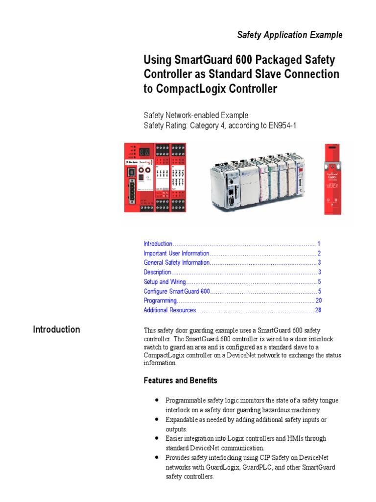 Smartguard 600 Controller Compactlogix Chingon Device Driver Devicenet Wiring Diagram Icon Computing