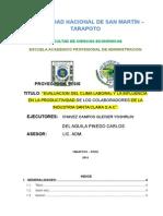 PROYECTO - CLIMA LABORAL Y PRODUCTIVIDAD 02.12.14.docx