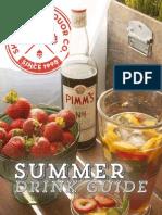 Summer Drink Guide  2014
