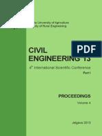 Latvia Civil Engineering 2013
