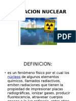 Riesgo Radiacion Nuclear
