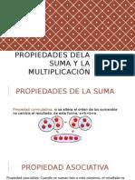 Propiedades Dela Suma y La Multiplicacion