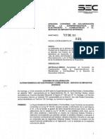 Acuerdo Colaboración SII vs SEC