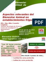 Bienestar Animal en Mataderos